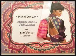 Cnd 181 Moyou London Mandala 06 Nails With Cnd Shellac Youtube