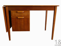 interesting light brown maple wooden modern table desk middle cute