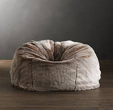fur bean bag chairs adults home interior furniture