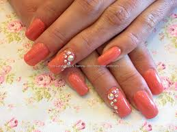 coral nail art by opi youtube lacquerstylecom jin soon coral