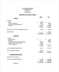Template For Income Statement And Balance Sheet Simple Income Statement Other Size S Spreadsheet Template