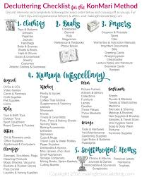 How To Declutter Your Home by The Ultimate Free Printable Decluttering Checklist For Konmari