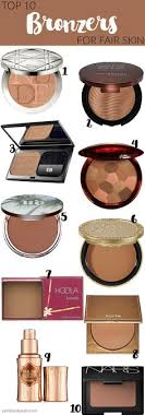 best bronzer for light skin the maybelline fit me bronzing powder in 200 is perfect for fair