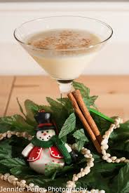 eggnog martini recipe mele kalikimaka martini a year of cocktails