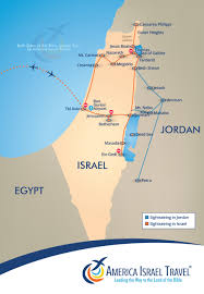 Jordan World Map by Both Sides Of The River Jordan America Israel Tours