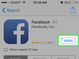 how to download the facebook application for the iphone 7 steps