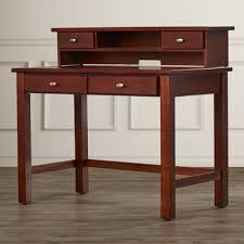 Bassett Writing Desk Darby Home Co Harshaw Writing Desk And Hutch U0026 Reviews Wayfair