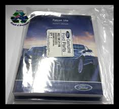 owners manual service guide ba falcon ute xr6 xr8 genuine ford