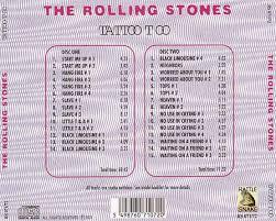 t u b e the rolling stones 1972 early stitches u0027 tattoo you