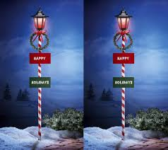 Candy Canes Lights Outdoor by Set Of Two 55