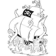 black pirate ship clip art 57