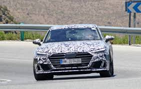 blue audi s7 2018 audi s7 spied testing in the heat of southern europe