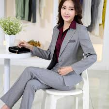 Plus Size Casual Work Clothes Aliexpress Com Buy Lenshin Work Wear Elegant Women 2 Piece Set