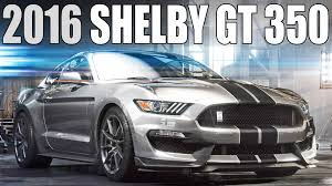 new 2016 ford mustang shelby gt350 youtube