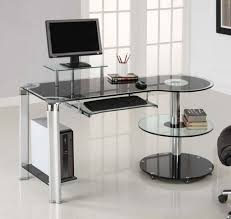 Natural Wood Computer Desk Office Modern Office Desks Ideas With Natural Wooden Computer