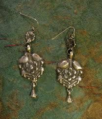 gujarati earrings beautiful gujarati sterling silver earrings boho