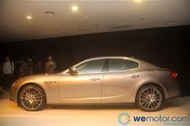 maserati brown launch 2014 maserati ghibli sports sedan starting from rm538 800