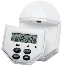 Woods Plug In Timers Dimmers by Brinks Home Security Indoor Digital 7 Day 6 Event Timer With 2