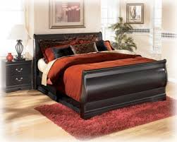 Ashley King Size Bed Amazon Com King Sleigh Bed By Ashley Furniture Kitchen U0026 Dining