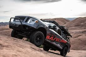 nissan titan off road nissan creates the ultimate off road camping rig autoguide com news