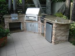 Prefab Outdoor Kitchen Island by Outdoor Magnificent Outdoor Kitchen Island In Cream Painted