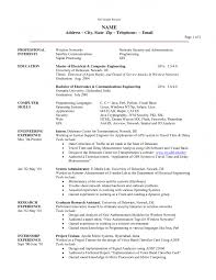 Job Skills In Resume by Resume Research Assistant Computer Science Resume Research Skills