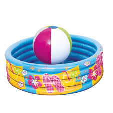 beach ball inflatable cooler luau party supplies