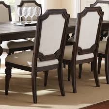 hollyhock distressed white dining room set from homelegance 5123