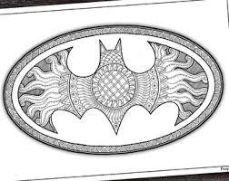 Coloring Zentangle Superhero Thors Hammer