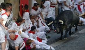 running of the bulls 2017 in pictures most shocking photos of the