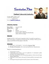 Bio Data Resume The Brilliant Sample Resume Bio Data Resume Format Web
