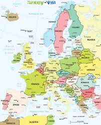 World Map Continents And Countries by Map Of Europe