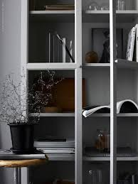 Grey Bookcase Ikea The Elegance Of A Grey Bookcase Daily Dream Decor