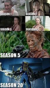 Walking Dead Meme Season 1 - the walking dead badass carol