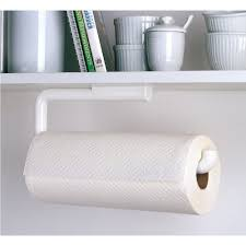 kitchen cabinet paper amazon com interdesign paper towel holder for kitchen wall
