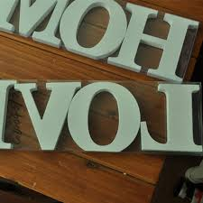 love wooden wedding decor party diy birthday gift words wood home