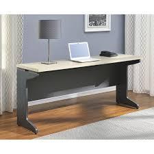 Ameriwood Computer Desk Ameriwood Home Pursuit Credenza Light Brown Gray Walmart