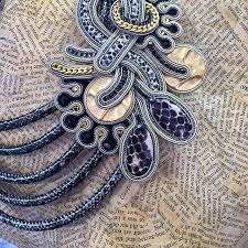 445 best soutache images on pinterest beaded embroidery shibori