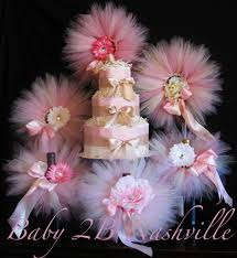 tutu baby shower decorations blush baby shower decorations