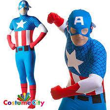 rubie u0027s superhero complete lycra fancy dress for men ebay