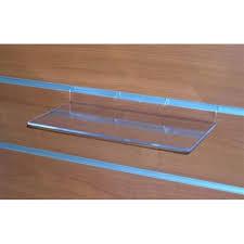 mensola plexiglass mensola espositore plexiglass 25 x 11 cm per pannello dogato