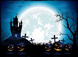 2017 new halloween pumpkin theme dark cemetery photography