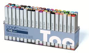 copic set b sketch marker pack of 12 amazon co uk office products