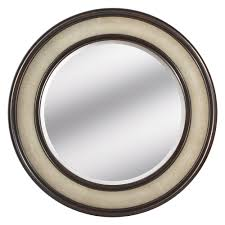instyle decor com beverly hills luxe ivory shagreen leather mirror