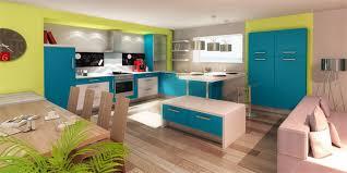 couleurs cuisines decoration des petites cuisines 14 id233es de couleurs originales