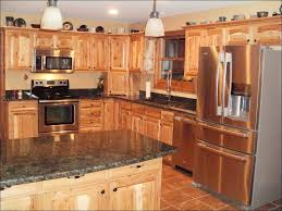 kitchen rustic hickory kitchen cabinets lowes cupboards rustic