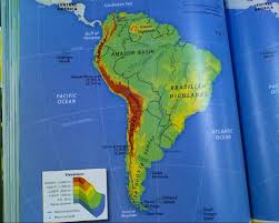 Physical Map United States by Latin America Physical Map Kirklivs Blog America Latin America