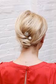 Hochsteckfrisurenen Zum Selber Machen Schulterlange Haare by Lässige Hochsteckfrisuren Für Mittellange Haare 12 Tolle Styling