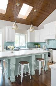 beautiful turquoise and white kitchen cool kitchens pinterest