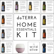 home essentials doterra home essential oils kit the wild olive